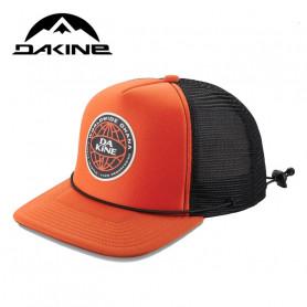 Casquette DAKINE Lock Down Trucker Orange Unisexe