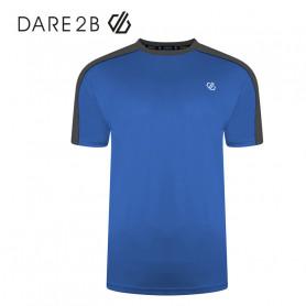 Tee-shirt Dare 2B Discernible Bleu / Gris Unisexe