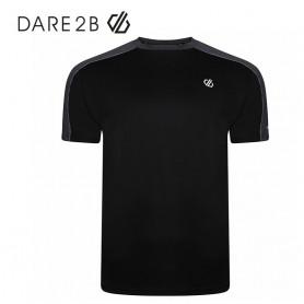 Tee-shirt Dare 2B Discernible Noir / Gris Homme