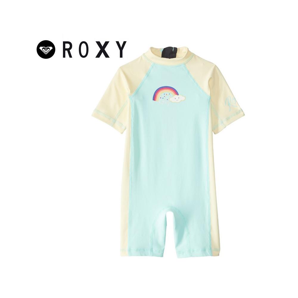 Combishort U.V. ROXY So Sandy Vert / Jaune BB Fille