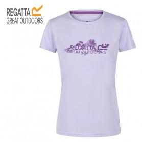 Tee-shirt de randonnée REGATTA Fingal V Lilas Femme
