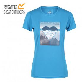 Tee-shirt de randonnée REGATTA Fingal V Bleu Femme