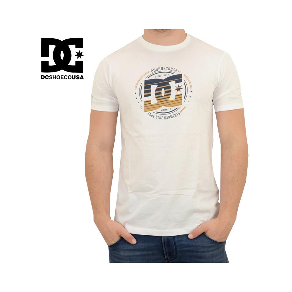 T-shirt DC SHOES Heraldy SS Blanc Garçon
