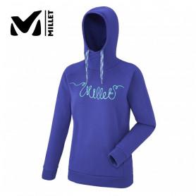Sweat à capuche MILLET Line Rope Violet Femme