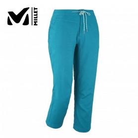 Pantalon d'escalade MILLET Babilonia Hemp Capri Bleu Femme