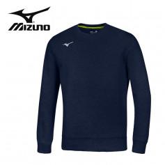 Sweat MIZUNO Terry Crew Bleu marine Junior