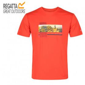 Tee-shirt de randonnée REGATTA Fingal V Orange Homme