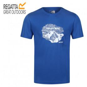 Tee-shirt de randonnée REGATTA Fingal V Bleu Homme