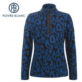 Veste polaire POIVRE BLANC W20-1540 WO Bleu marine Femme