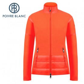 Veste polaire POIVRE BLANC W20-1601 WO Orange Femme