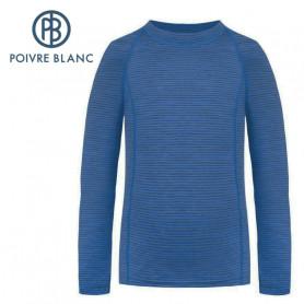 Maillot merinos POIVRE BLANC W20-1840 WO Bleu Femme
