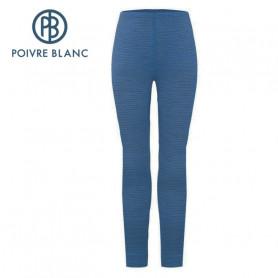 Pantalon merinos POIVRE BLANC W20-1820 WO Bleu Femme