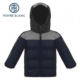 Blouson POIVRE BLANC W20-1215 BBBY Bleu marine BB Garçon