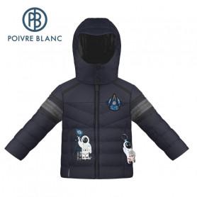 Veste de ski POIVRE BLANC W20-0903 BBBY Bleu marine BB Garçon
