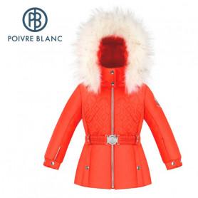 Veste de ski POIVRE BLANC W20-1003 BBGL/A Orange BB Fille