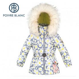 Veste de ski POIVRE BLANC W20-1003 BBGL/A Fleuri BB Fille