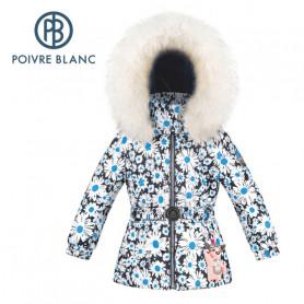 Veste de ski POIVRE BLANC W20-1003 BBGL/B Fleuri BB Fille