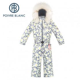 Combinaison de ski POIVRE BLANC W20-1030 BBGL Fleuri BB Fille