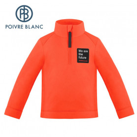 Veste polaire POIVRE BLANC W20-1550 BBBY Orange BB Garcon
