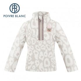 Veste polaire POIVRE BLANC W20-1540 BBGL Crème Fille
