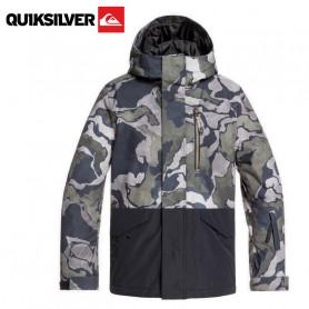 Veste de ski QUIKSILVER Mission Block Camouflage Garçon
