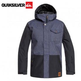 Veste de ski QUIKSILVER Ridge Bleu jean Garçon