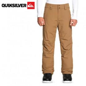 Pantalon de ski QUIKSILVER Porter Camel Junior