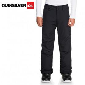 Pantalon de ski QUIKSILVER Estate Noir Junior