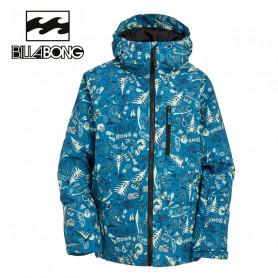 Veste de ski BILLABONG  All days Imprimé bleu Junior