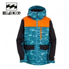 Veste de ski BILLABONG  All days Vert / Orange Junior