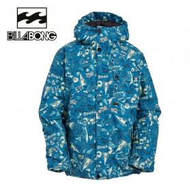 Veste de ski BILLABONG Arcade Imprimé bleu Junior