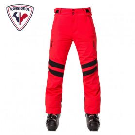 Pantalon de ski ROSSIGNOL Aération Rouge orangé Hommes