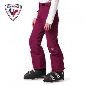 Pantalon de ski ROSSIGNOL Girl Ski Prune Fille