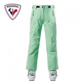 Pantalon de ski ROSSIGNOL Girl Ski Menthe Fille