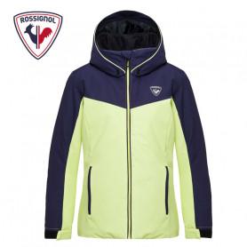 Veste de ski ROSSIGNOL Girl Ski Jacket Bleu / Jaune Fille