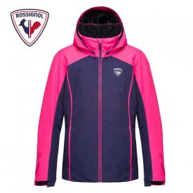 Veste de ski ROSSIGNOL Girl Fonction Jacket Bleu / Rose Fille