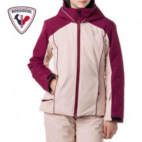 Veste de ski ROSSIGNOL Girl Fonction Jacket Prune / Rose Fille