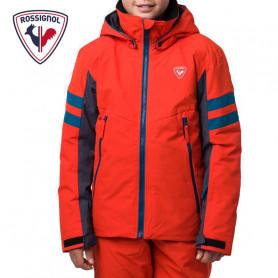Veste de ski ROSSIGNOL Boy Ski Orange Garçon