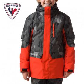 Veste de ski ROSSIGNOL Boy Freeride Print Camo Garçon