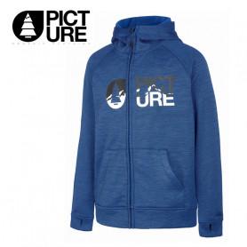 Sweat zippé PICTURE ORGANIC Yuma Tech Bleu Junior