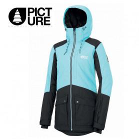 Parka de ski PICTURE ORGANIC Minera Turquoise / Noir Femme