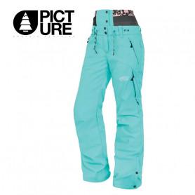 Pantalon de ski PICTURE ORGANIC Treva Turquoise Femme