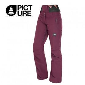Pantalon de ski PICTURE ORGANIC Exa Lie de Vin Femme