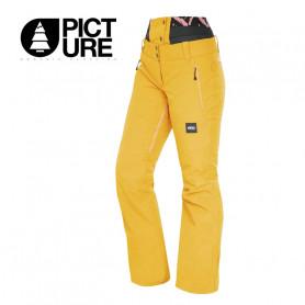 Pantalon de ski PICTURE ORGANIC Exa Moutarde Femme