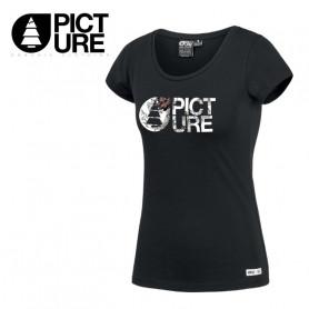 T-shirt PICTURE ORGANIC Fall Noir Femme