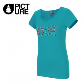 T-shirt PICTURE ORGANIC Fall Bleu Femme