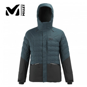 Veste de ski MILLET Baqueira Bleu gris / Noir Homme