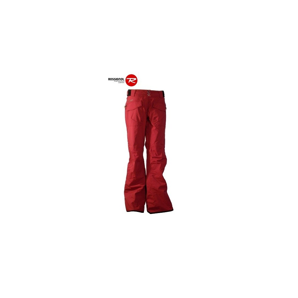 pantalon de ski rossignol nwwpt044 framboise femme sport a tout prix. Black Bedroom Furniture Sets. Home Design Ideas