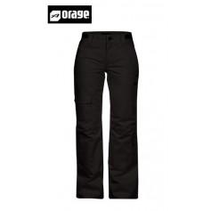 Pantalon de ski ORAGE Scandia Black Femme