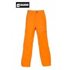 Pantalon de ski ORAGE Tarzo orange Junior